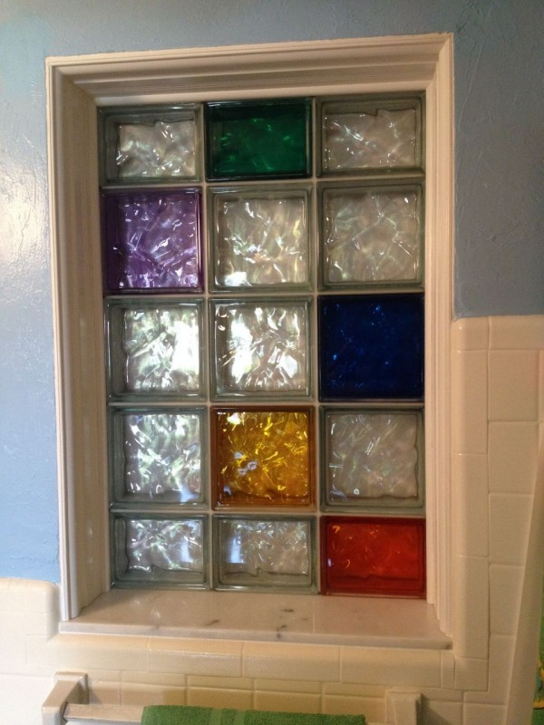 Bathroom Window Glass Blocks