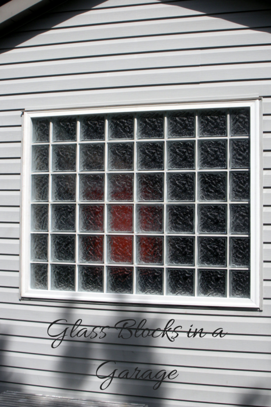 glass block garage windows