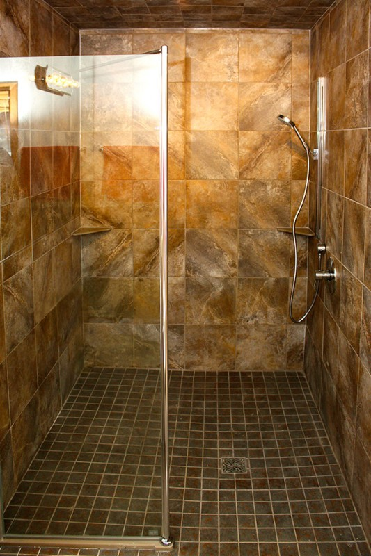 Tuff form shower base_completed
