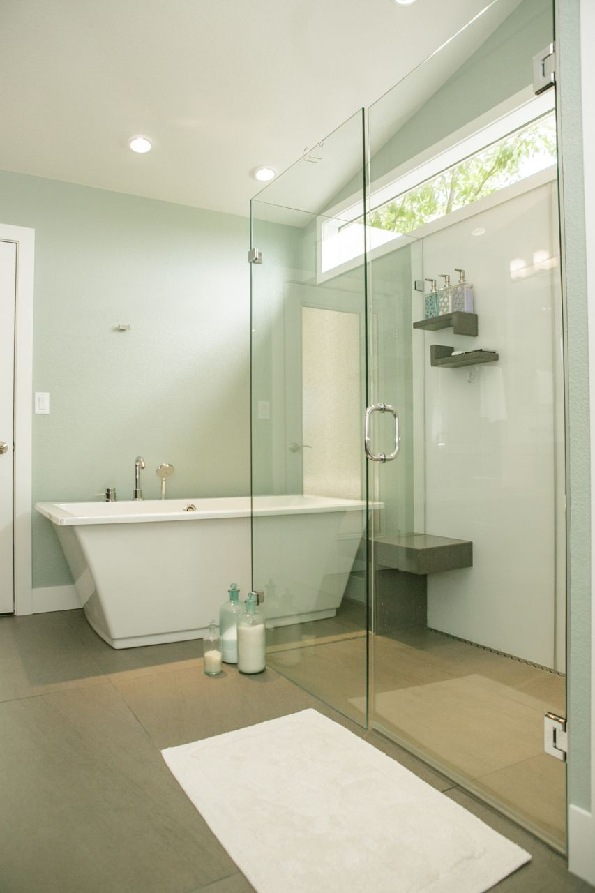 Create a Seamless Look with a Barrier Free Shower Base