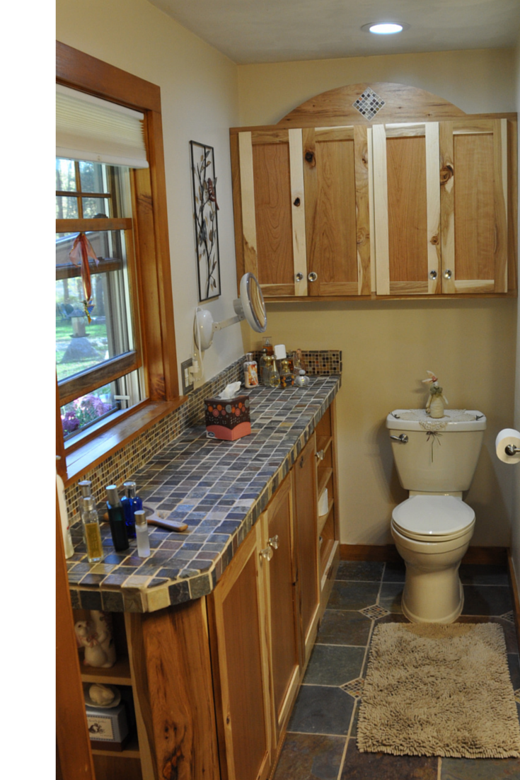 Custom Products and 3 Planning Tips make a Bathroom ...