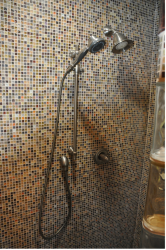 Mosaic tile shower in new york