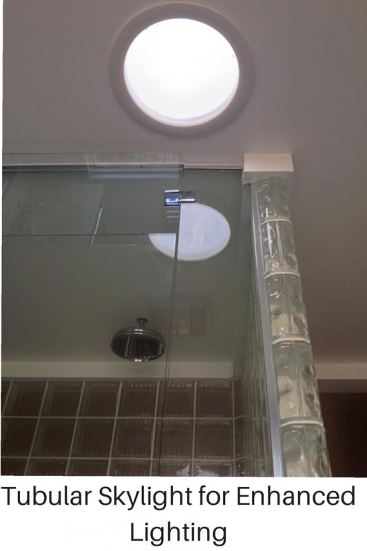 tubular skylight for day and evening lighting