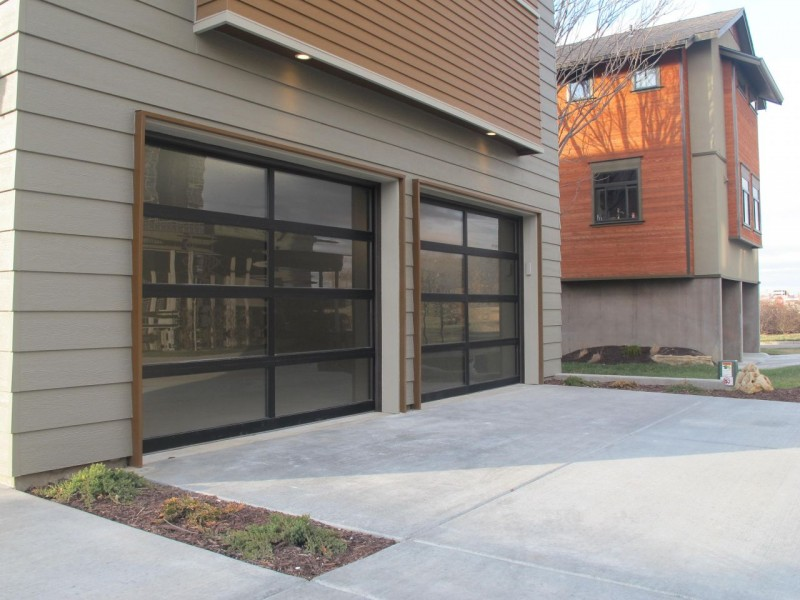 Garage in urban renewal home in Kansas City Missouri