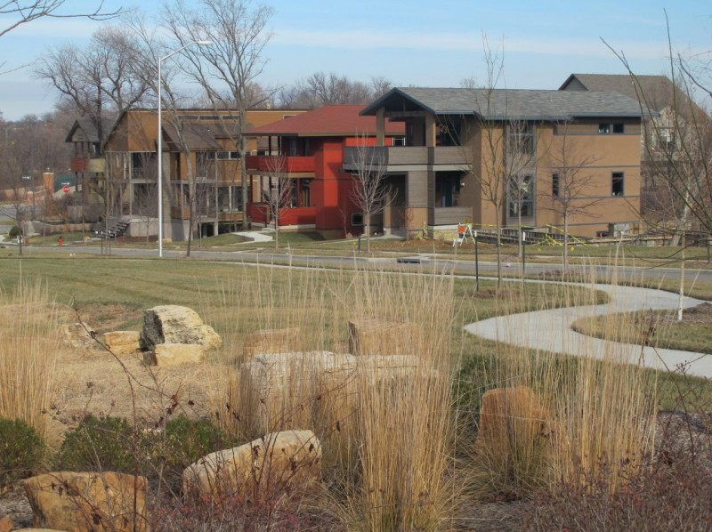 Greenspace in Beacon Hill subdivision
