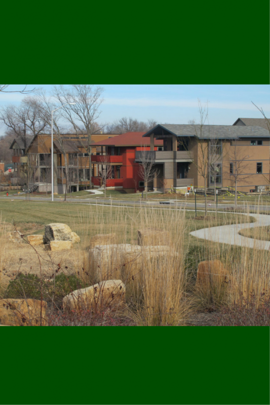 Greenspace in the beacon hill subdivision in kansas city