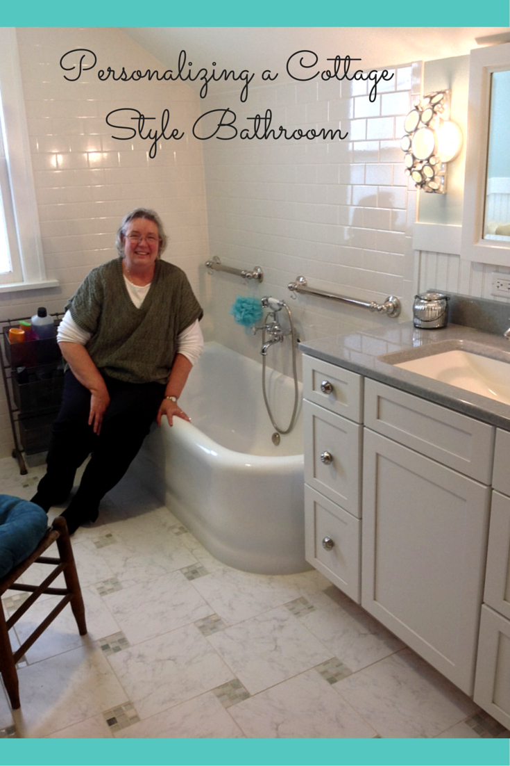 Cottage style bathroom remodel in cleveland ohio