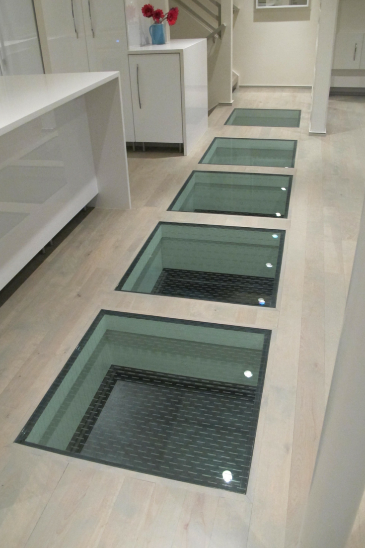 How To Use Glass Floor Panels To Connect Spaces In A