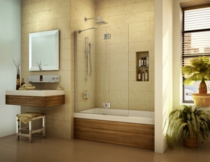 Enjoy High Style Glass Shower Or Tub Enclosures For Any
