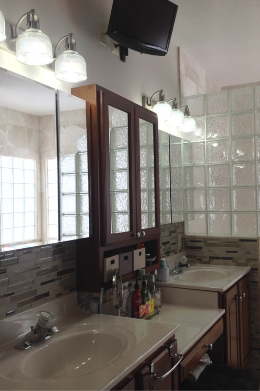 Mirrored medicine cabinets add storage columbus ohio
