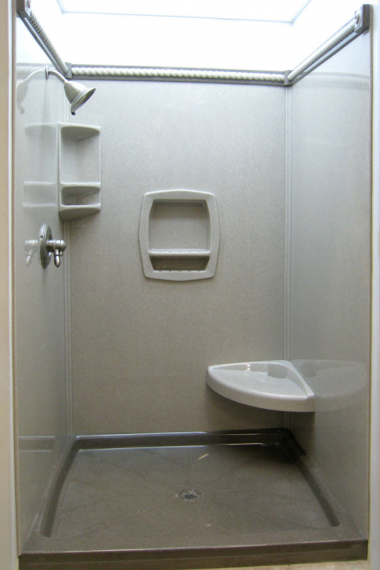 how to choose solid surface shower accessories
