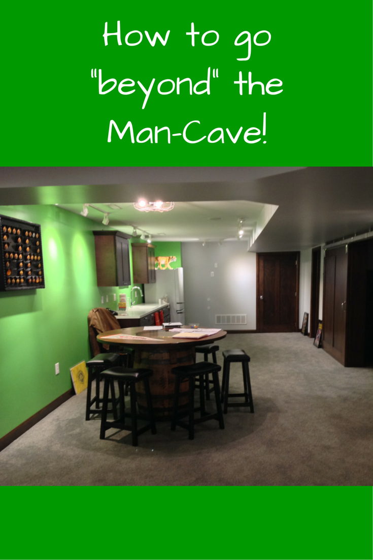 Basement remodeling How to go _beyond_ the Man-Cave1