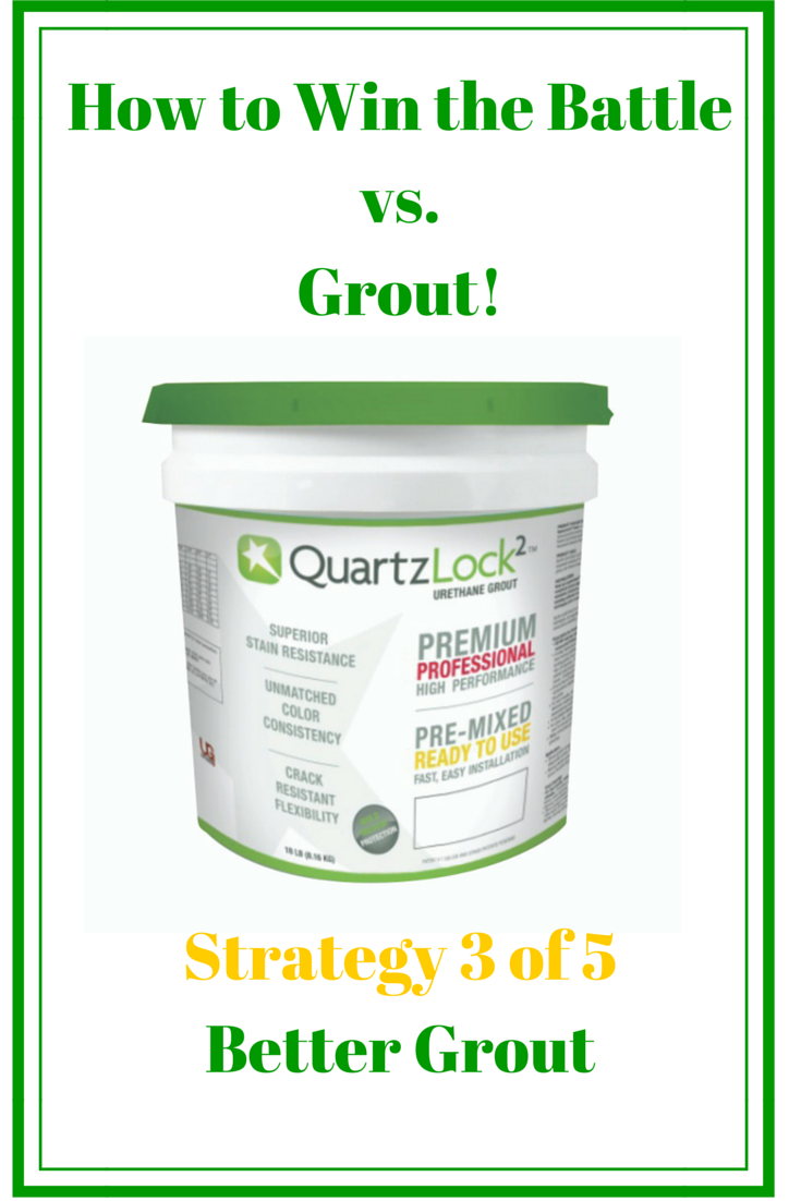 Urethane grout in an 18 lb. bucket