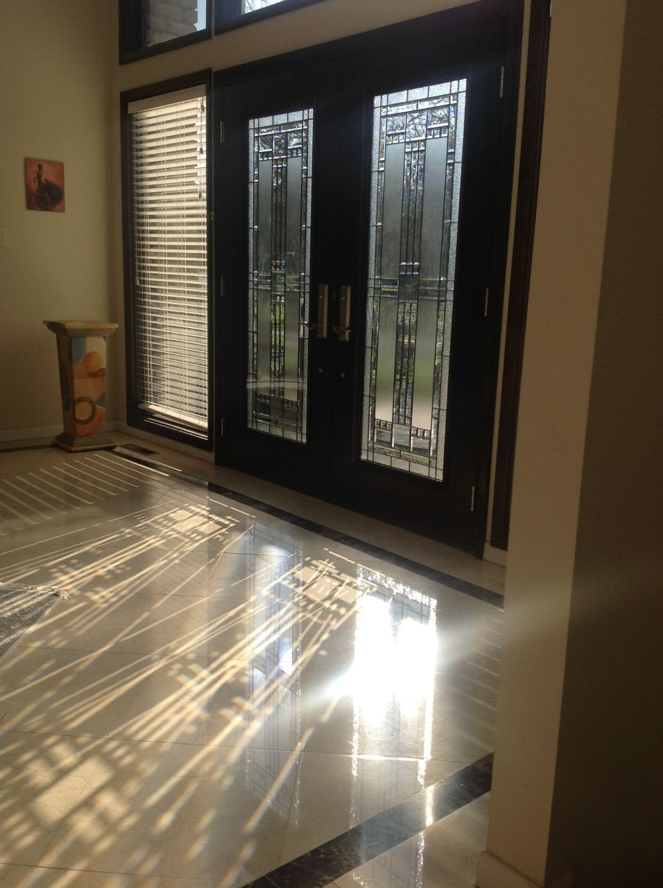 Luxury Glass Door : Cool uses of glass in a contemporary luxury home