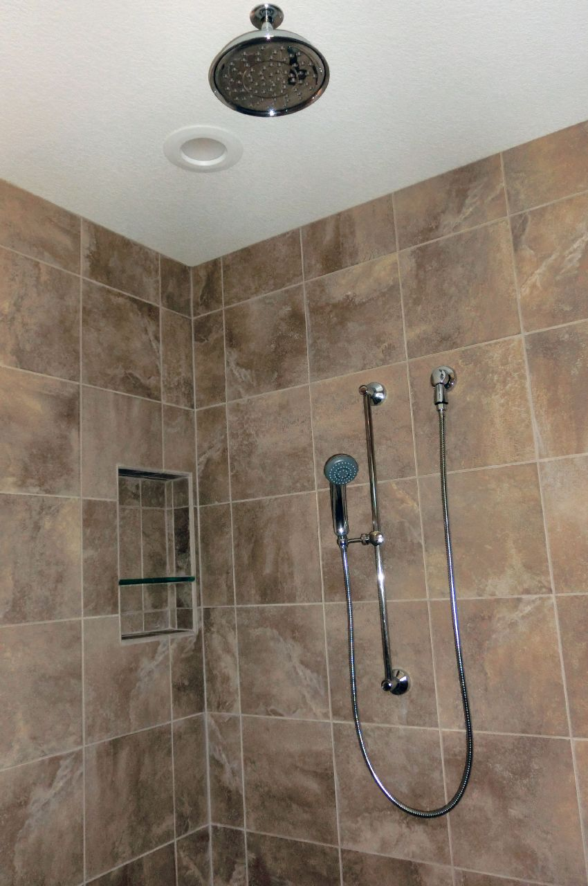 How to Make a 4\' Wide Walk In Shower