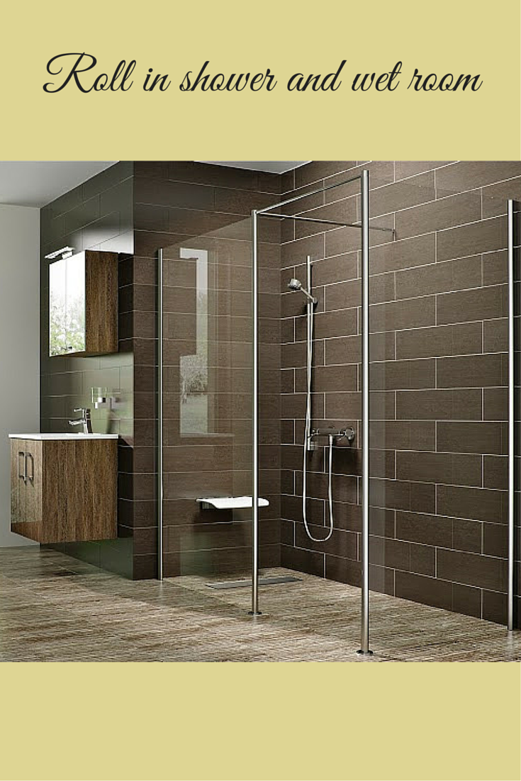 Roll in shower and wet room system| Innovate Building Solutions