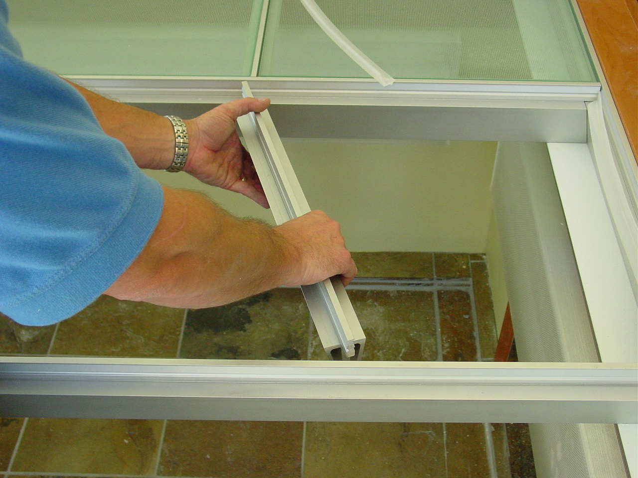 Trick 5 Pre-engineered system being installed