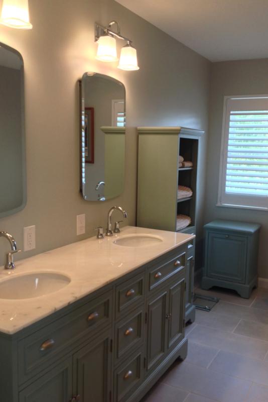 San Diego Hotel Inspires an Open Design Bath Remodel in