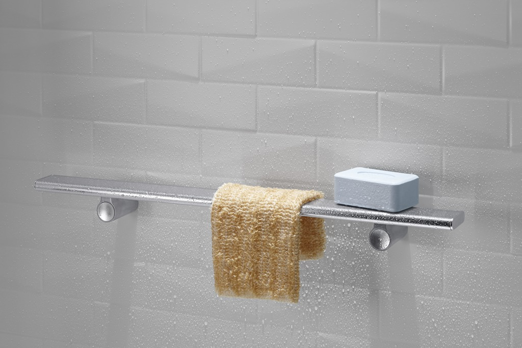 3 ½ Innovative Shower Storage Products for a Luxury Bathroom