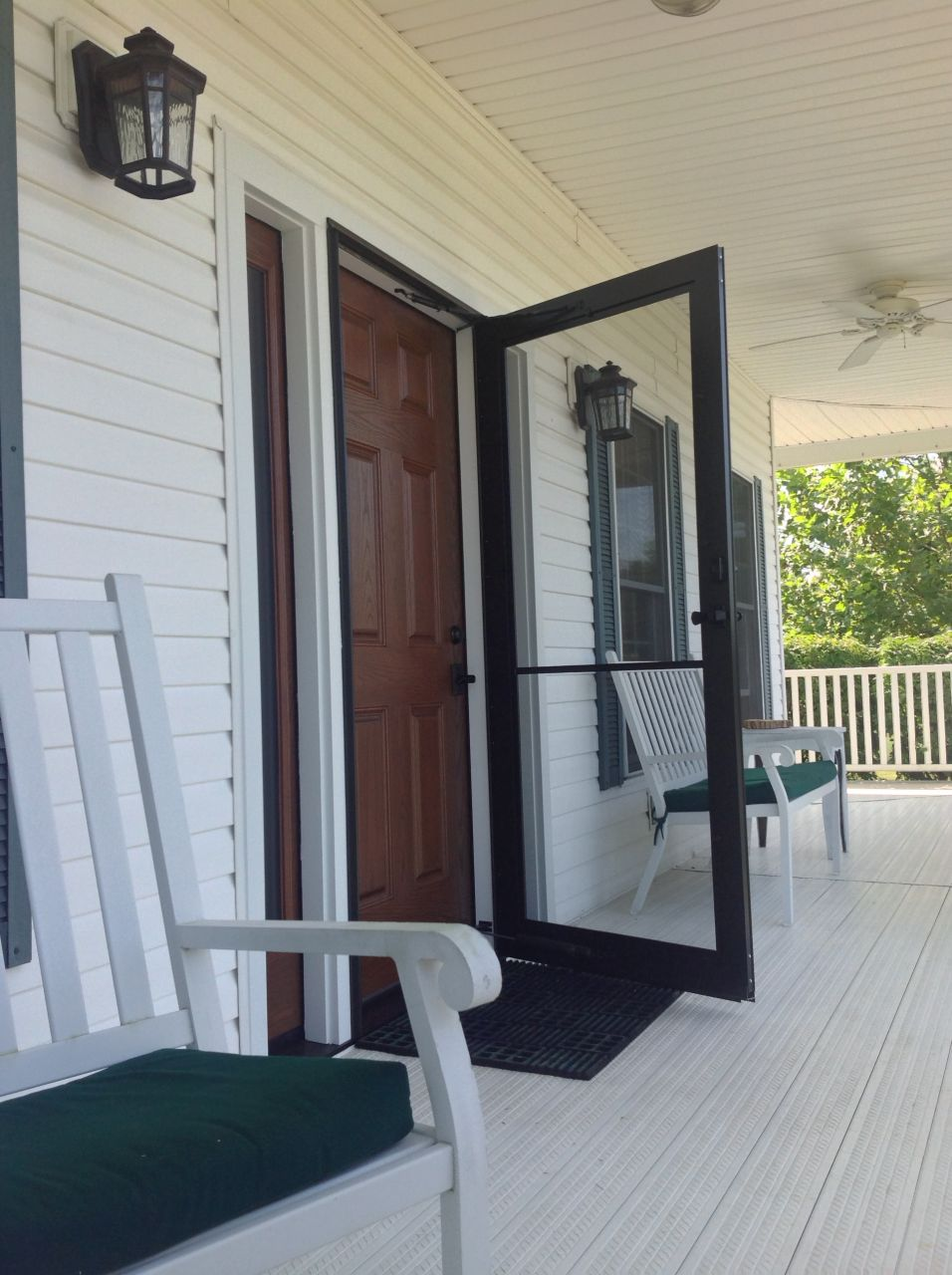 How to tame the countryside with a classic fiberglass door for Fiberglass well house
