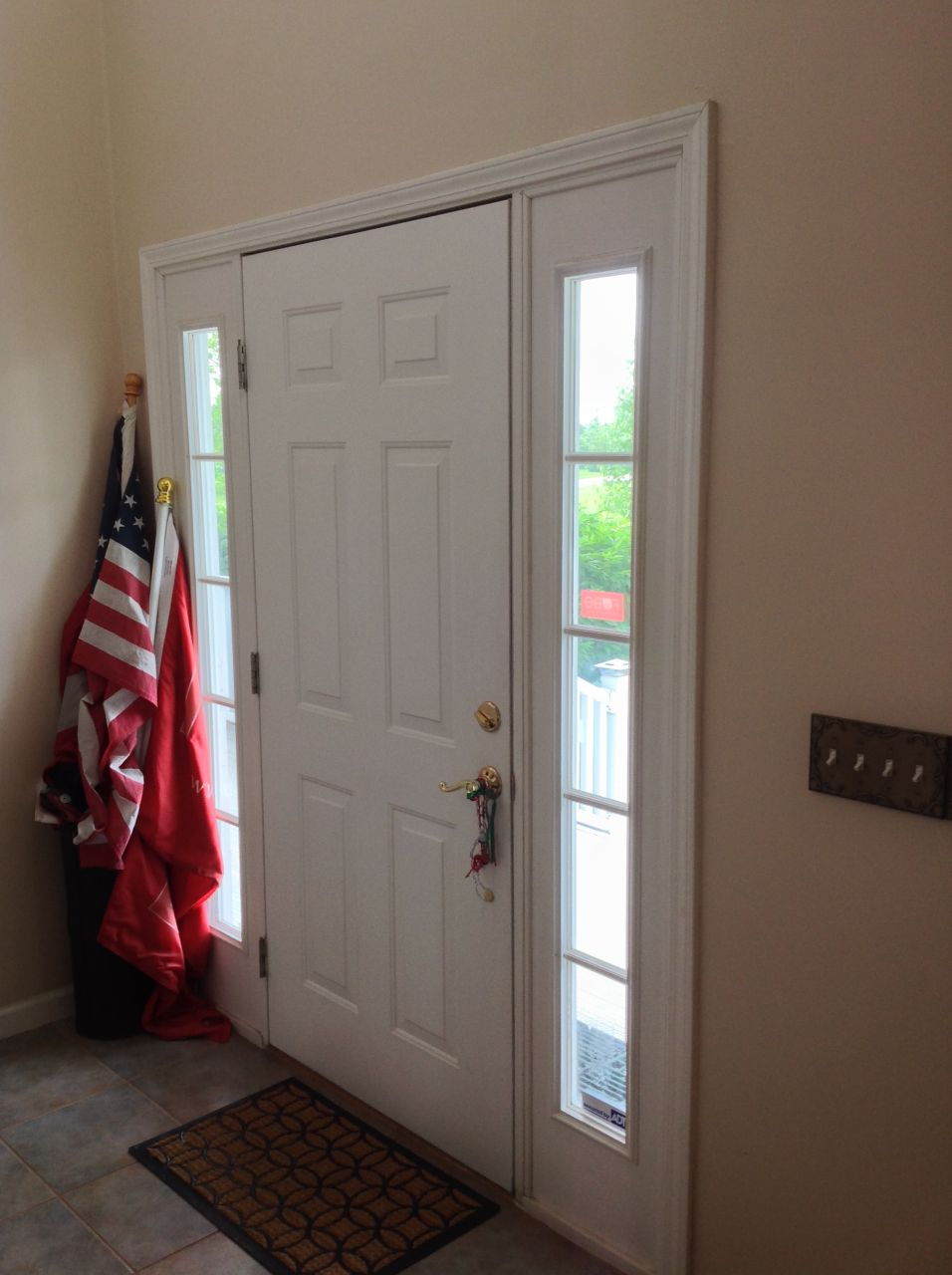 How To Tame The Countryside With A Classic Fiberglass Door And Glass