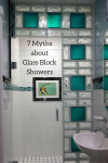 7 Myths about Glass Block Showers