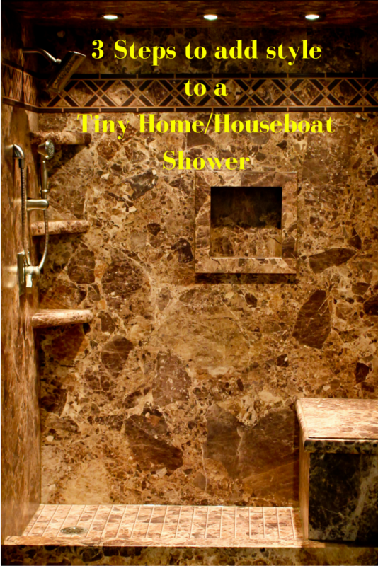 3 Steps for a Tiny Home Houseboat Shower