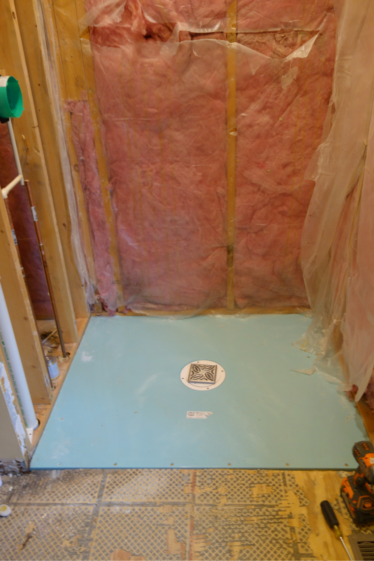Waterproof Shower Base For A One Level Curbless Walk In Shower | Innovate  Building Solutions