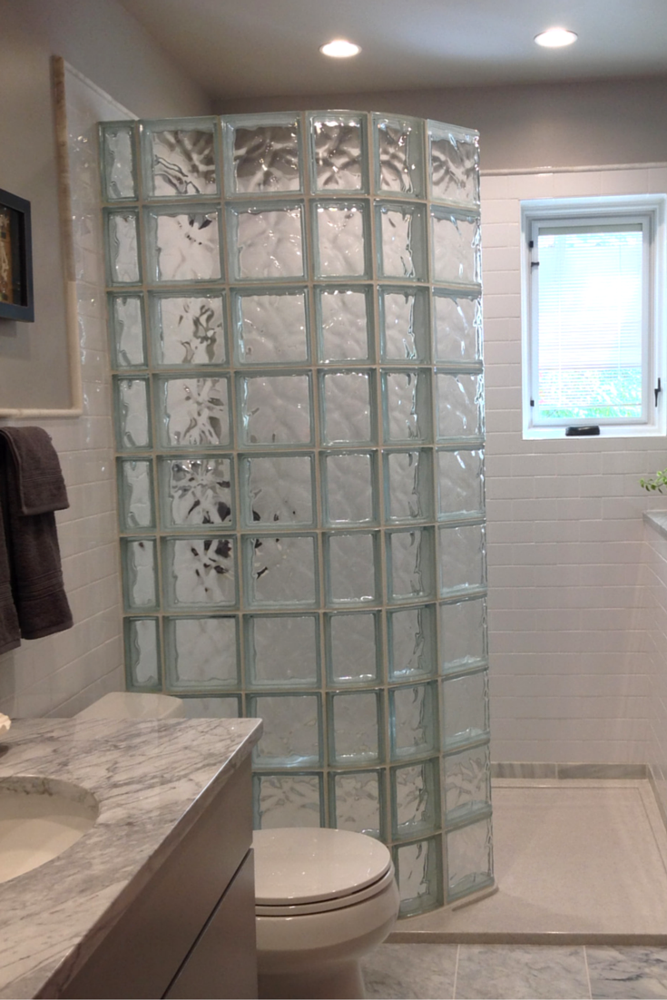 How To Compare Shower Pans For A Glass Block Wall