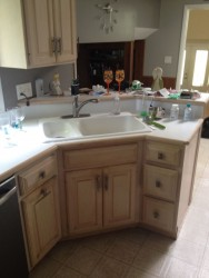 Fairview park kitchen before remodeling