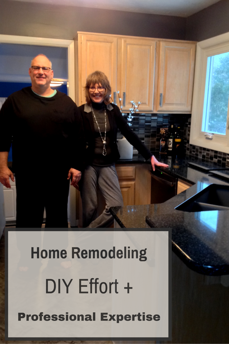 Home Remodeling How to combine DIY with a professional contractor Cleveland ohio