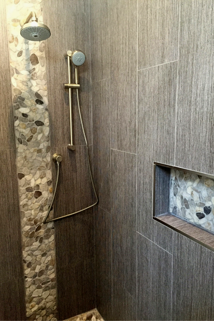 Zen Minimalist Bathroom In Chicago Uses Glass Block Walk A