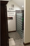 A Zen Minimalist Bathroom is Worth the Wait