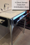 9 Clever Storage Tricks from the 2016 Builders and Kitchen & Bath Show