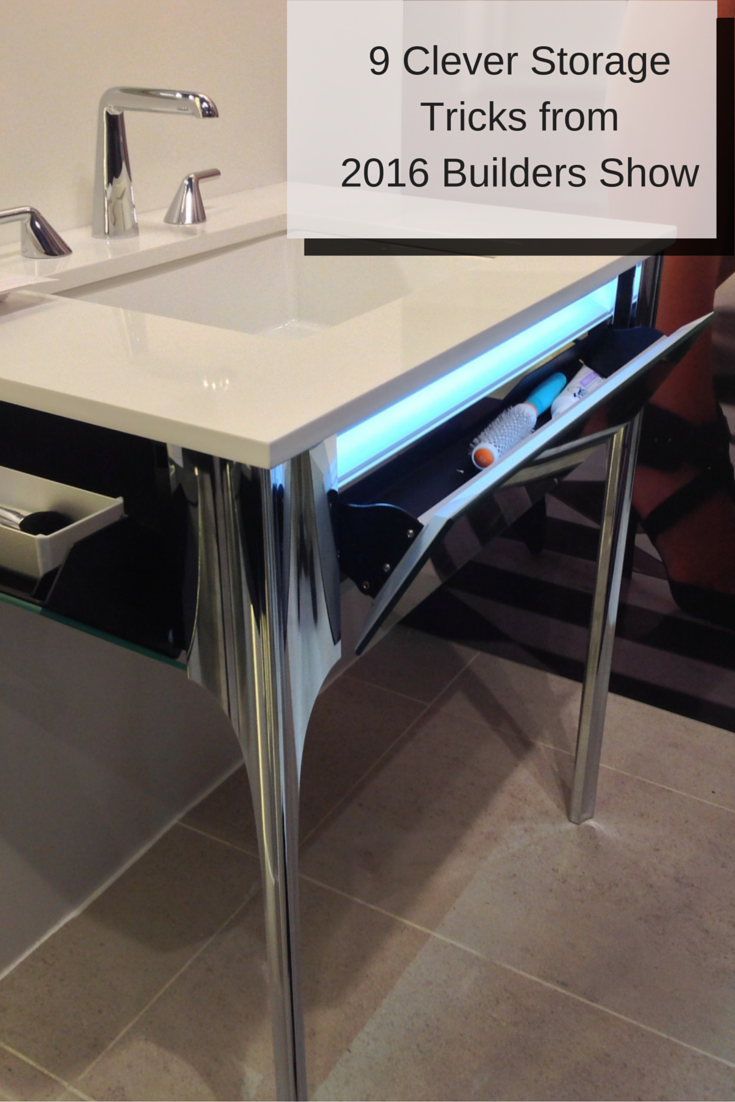 9 Clever storage tricks from the 2016 International Builders and Kitchen and Bath Industry show