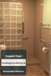 How to regain your independence with an accessible bathroom remodel