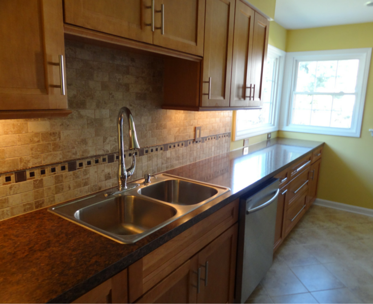 minor kitchen remodel in fairview park ohio a suburb of cleveland