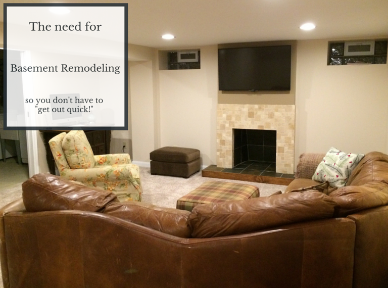 The need for basement remodeling in University Heights Ohio