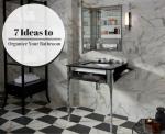 7 Foolproof Ideas to Organize Your Bathroom