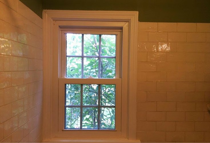 pvc composite azek shower window trim