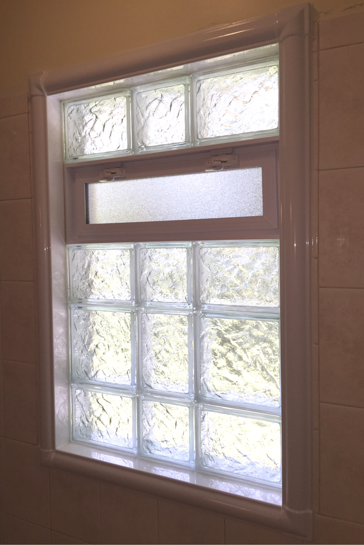 acrylic window trim kits for a shower to replace rotten wood