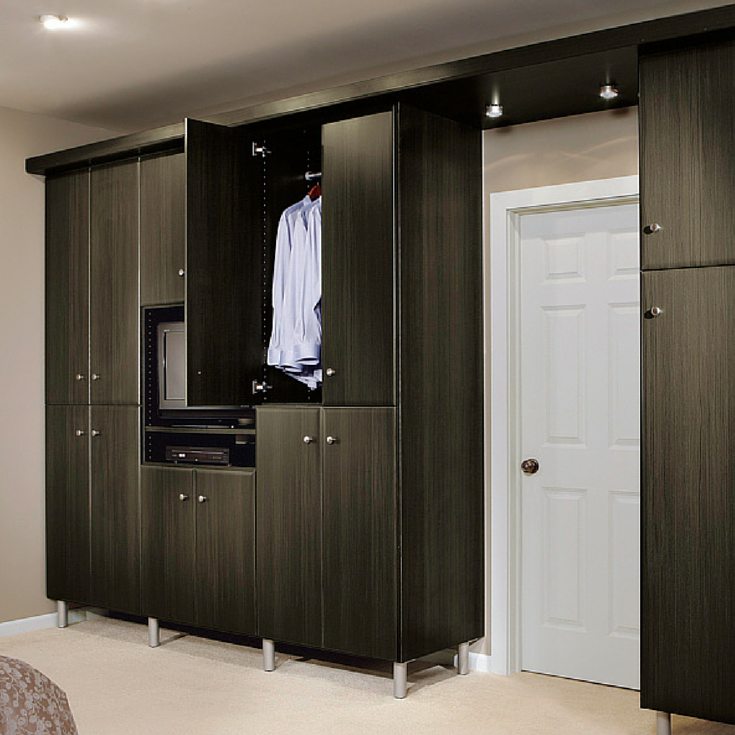contemporary closet wardrobe columbus