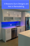 4 Reasons Why Euro Designs Are Hot in Remodeling