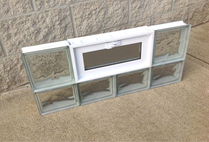 strongest glass block window fabrication method protect all system