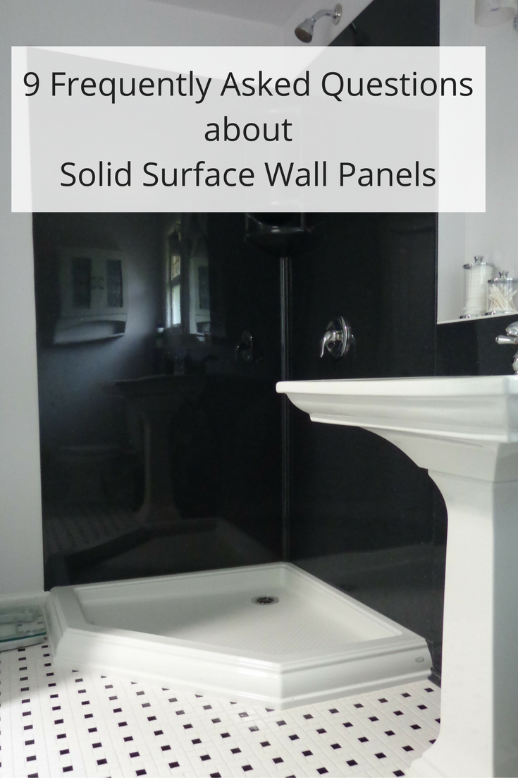 Exceptionnel 9 Frequently Asked Questions About Stone Solid Surface Shower Wall Panels. U201c