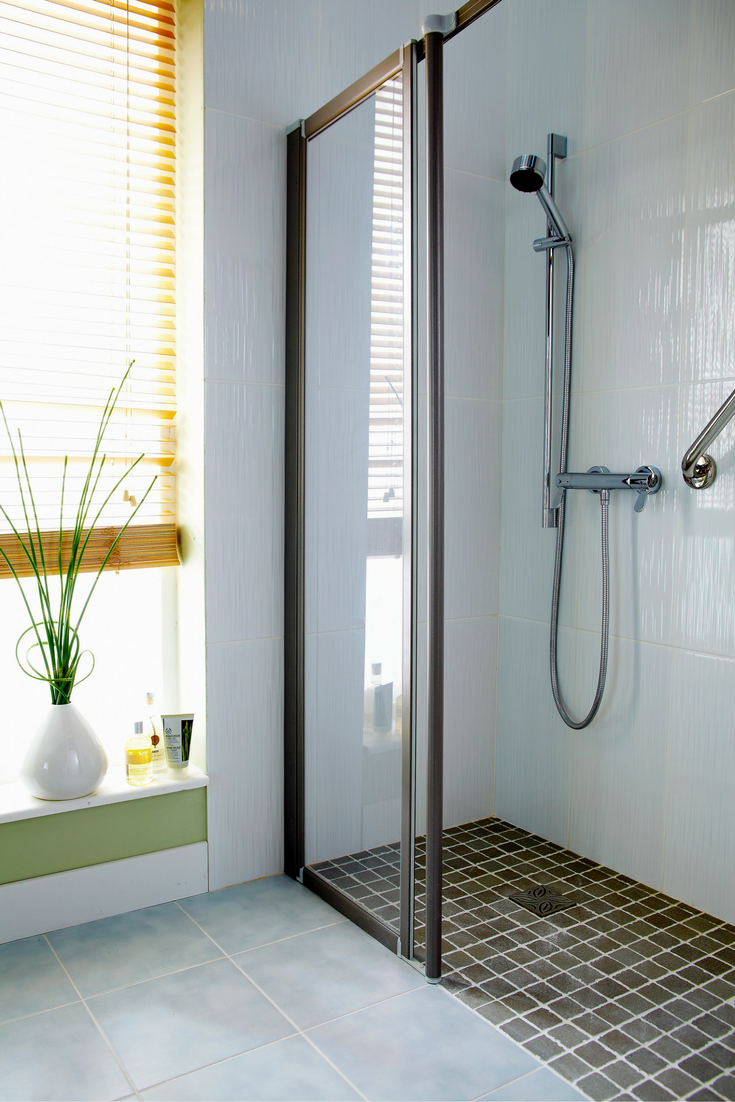 Level A Bathroom Floor : Pros and cons of a walk in shower design cleveland