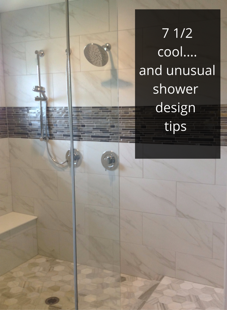 7 cool and unusual shower design tips from the 2016 Columbus Parade of Homes P & D Builders shower