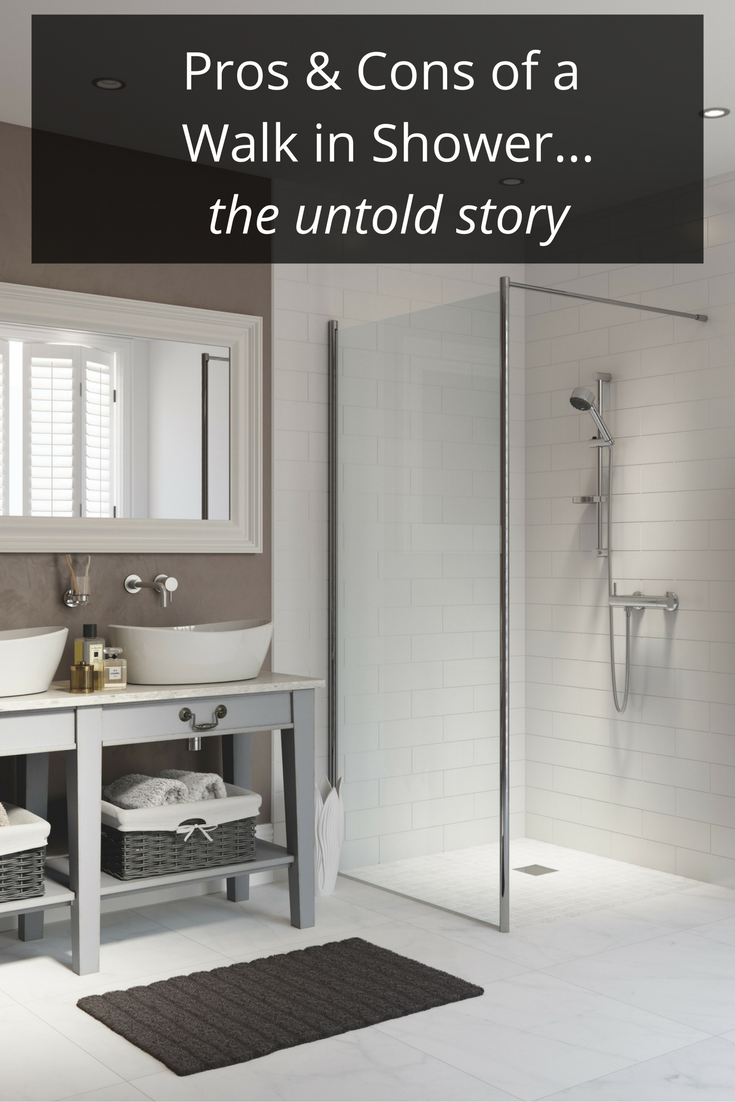 The Pros and Cons of a Walk in Shower – The Untold Story