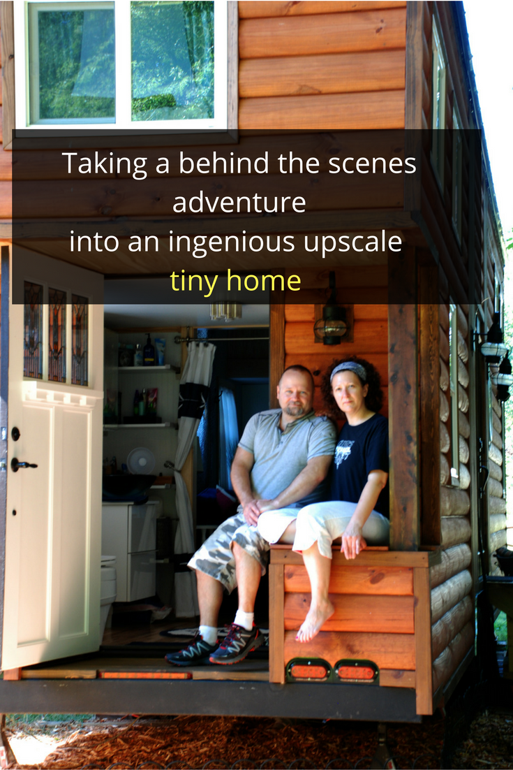 Taking a behind the scenes look at a luxury tiny home