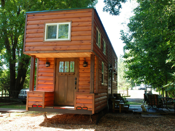 39 foot longer tiny home in north carolina